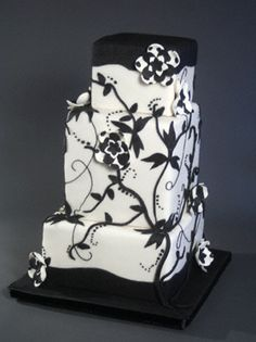 Graphic, Modern Wedding Cakes and Specialty Cakes by Sugar Couture : Sugar Couture Specialty Cakes