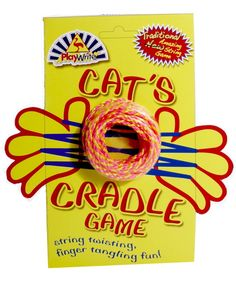 60s 70s 80s toys | CATS CRADLE TOY perfect stocking filler BRAND NEW!!