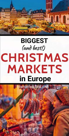 Biggest (and best!) Christmas Markets in Europe - Love Christmas? Looking for the BIGGEST Christmas Markets in Europe? Here are the BIGGEST, the OLDEST and the one with the COOLEST tradition. Christmas Markets Germany, Best Christmas Markets, Christmas Markets Europe, Christmas Travel, Christmas Fun, London Christmas, Christmas Vacation, Road Trip Europe, Europe Travel Guide