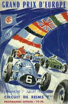 1951 French Grand Prix. The 1951 French Grand Prix was a Formula One motor race held at Reims-Gueux on 1 July 1951. It was the fourth round of the 1951 World Drivers' Championship and was won by Juan Manuel Fangio and Luigi Fagioli driving an Alfa Romeo. It was the first of three occasions where two drivers would be credited with a Grand Prix win after sharing a car.