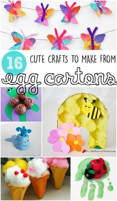 16 cute egg carton crafts made by kids craft stars bloggers