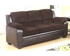 Sofa   Faux Leather U0026 Corduroy   Sam Levitz Furniture