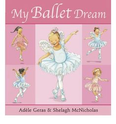 It's nearly ballet recital day ... Tilly has been practising her ballet steps but she's still a little nervous.  Then, the night before the big day, she has a wonderful dream and she knows everything is going to be just perfect.