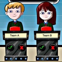 This Fun Classroom Quiz App allows the Teacher (or responsible adult) to take on the role of a Quiz Question …