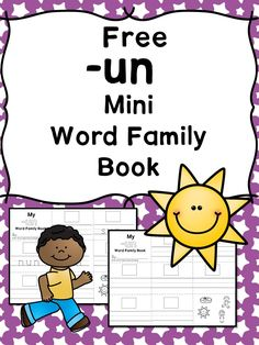 IT CVC Word Family Worksheets -Make a word family book! | Pinterest ...