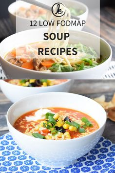 12 delicious low FODMAP soup recipes for every day. With 7 vege Low FODMAP soup! 12 delicious low FODMAP soup recipes for every day. With 7 vege. 12 delicious low FODMAP soup recipes for every day. With 7 vege. Soup Recipes, Diet Recipes, Vegetarian Recipes, Vegetarian Soup, Healthy Recipes, Vegetarian Italian, Jello Recipes, Vegetarian Options, Recipes Dinner
