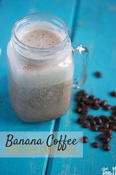 Banana Coffee Protein Smoothie - We recommend our our Aged Mocha Java blend for this recipe. www.weaverscoffee.com