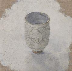 "Japanese Tea Cup 6"" X 6"" Oil on Linen ©Sarah Gillespie 2010"
