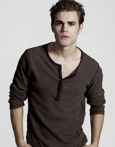 Vampire Diaries: yeah he can bite me. turn me. I don't care at all..