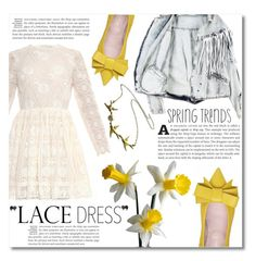 """""""Lovely Lace Dresses"""" by dolly-valkyrie ❤ liked on Polyvore featuring Valentino, MDKN, Kate Spade and lacedress"""