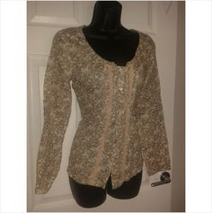 Designer FAT FACE Ladies Long Sleeve Casual Top Blouse