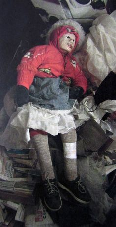 Olga, 10, was one of 29 girls mummified and turned into 'dolls' by Moskvin (Picture: EAST2WEST News)