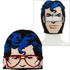 Superman Roll-Down Mask Beanie - Party City