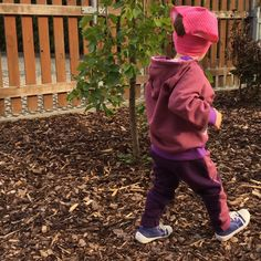 dětské kalhoty SAOS ... PINK WITH PURPLE