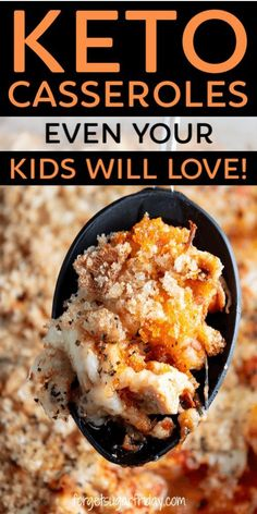 Your kids will LOVE these keto casserole recipes! These keto chicken casseroles . - Keto Recipes Your kids will LOVE these keto casserole recipes! These keto chicken casseroles . Ketogenic Recipes, Low Carb Recipes, Diet Recipes, Ketogenic Diet, Slimfast Recipes, Crockpot Recipes, Dessert Recipes, Recipes Dinner, Easy Recipes