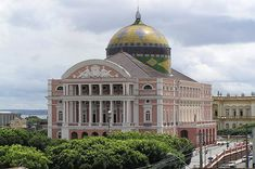 Teatro Amazonas in Manaus – Manaus, Brazil - Atlas Obscura