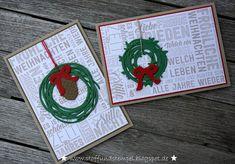Stoff und Stempel / Weihnachtskarten / Weihnachtspotpourri / Stampin'Up!