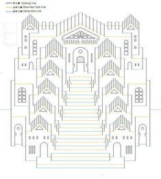 Mejores 413 imágenes de Arquitectura en papel_Pop up en