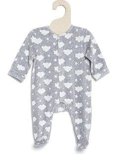cb620b2733100 Sweat forme perfecto gris chiné Bébé garçon