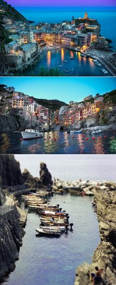 The Cinque Terre is a rugged portion of coast on the Italian Riviera