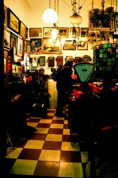 San Telmo antique shop, Buenos Aires, Argentina