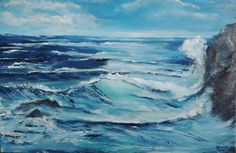 So fern wie ein Traum ___Oil and Acryl art Art gallery Sabine Budin www.sabinebudin.at