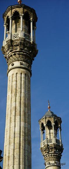 Aziziye Camii Minareleri / Konya Indian Architecture, Historical Architecture, Visit Turkey, Istanbul, Islamic Art, Mosque, Beautiful Eyes, Civilization, City Photo