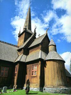 Navianas Green World - Norwegian Stavechurch