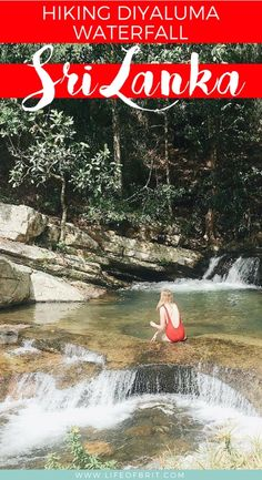 Hiking to the top of Diyluma Waterfall, the second tallest falls in Sri Lanka! Beautiful waterfalls, and natural pools to swim in make for a great day trip.
