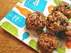 granola balls that are gluten, grain, dairy & refined sugar-free. Delicious healthy snack or quick breakfast.