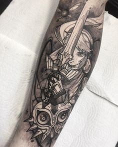 The Legenda Of Zelda tattoos done by To submit your work use the tag And don't forget to share our page too… Henna Tattoos, Henna Tattoo Kit, Henna Pen, Lace Tattoo, Sleeve Tattoos, Tattoo Sleeves, Tatoos, Feather Tattoo Design, Owl Tattoo Design