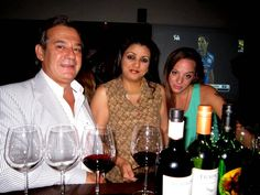 Consul General of Argentina, Suneeta Kanga of Sommelier India and Cecilia Oldne at Wine Wednesday