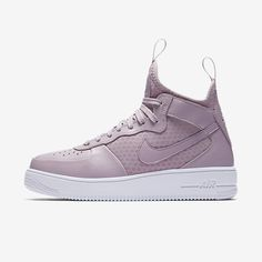 separation shoes 6b2e7 4fcf3 The Nike Air Force 1 UltraForce Mid Gets Lavender Love  Pretty in