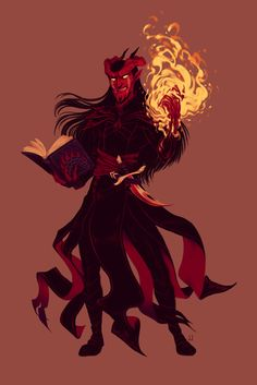 """janisjoy: """"Commission done :D! """"Let us step into the blaze and thus make of ourselves a bridge into antiquity. From that conflagration, ancient truths shall drift forth to set alight the hearts and minds of those lost to darkness."""" The scheming..."""