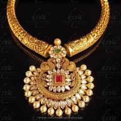 Gold Necklace Designs from Hiya Designer Jewellery