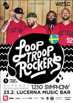 SWEDISH BOOMBOX // 23. 2. 2015 // Lucerna Music Bar