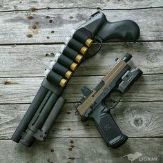 Two firearms I'd love to pick up. Serbu Super Shorty & FN FNX-45 Tactical…