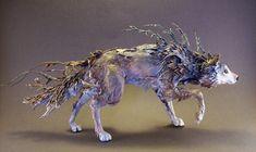 Hybrid wolf creaturesfromel