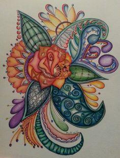 My latest creation with coloured pencil. Marizaan van Beek
