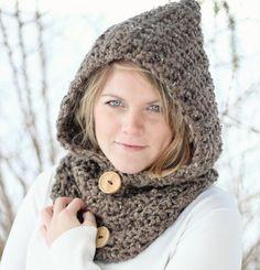 Free Bear Cowl Crochet Pattern | CROCHET PATTERN HOODIE Cowl The Toronto · Jocelyn Designs · Online ...