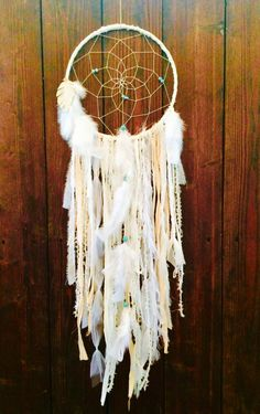 Bohemian Dream Catcher Hippie Dreamcatcher by 54UniqueBoutique