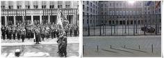 Parata militare davanti al Ministero dell'aviazione Tedesca in #Wilhelmstraße Berlino, in primo piano il Reichsmarschall  Hermann Göring