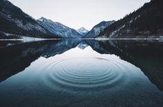 Немного живописных пейзажей. Природа, Озеро, костер, горы, Фото, пейзаж, отдых, не мое, длиннопост