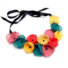 Vivid Colors, Jewerly, Modern Design, Handmade Jewelry, Band, Textile, Accessories, Necklaces, Magic