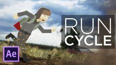 Cartoon Animation Tutorial - Part 3: The Run Cycle