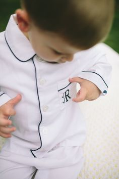 Create a memorable gift for that special little one with a monogrammed pajama set from Petite Plume.  www.petite-plume.com