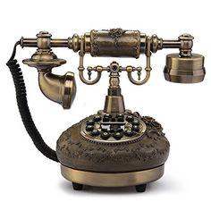 VivReal Téléphone Fixe en Résine Rétro Antique avec Repondeur Combiné Décoration Maison null http://www.amazon.fr/dp/B00RCYALZ6/ref=cm_sw_r_pi_dp_b8qRwb0009CRJ