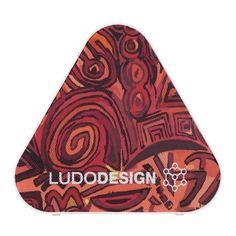 Altavoz triangulo Bluetooth Ludodesign Symbol red
