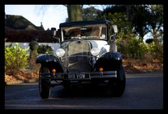 Face on photographing another oldie. This elegant wedding car transported the lovely couple to their wedding ceremony and reception venue, West Tower, Ormskirk.