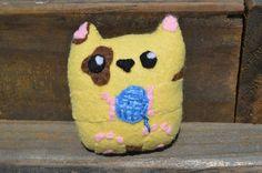 Custom Miniature Kitty Cat Plushie/Fabric Stress Ball